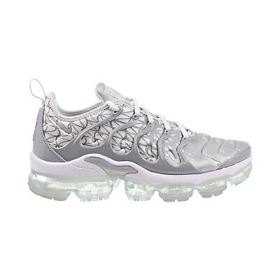 Nike Air Vapormax Plus Mens Shoes White/Metallic Silver 924453-106