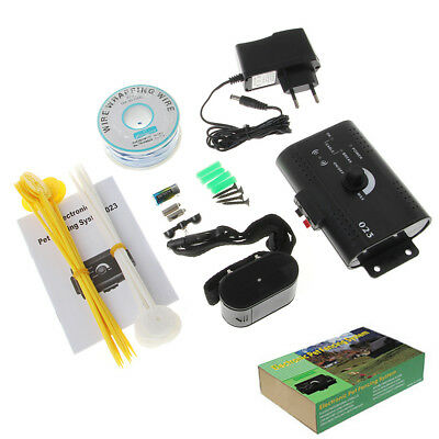 Electric Underground Dog Fence System Waterproof Shock Collars For Pet Dog
