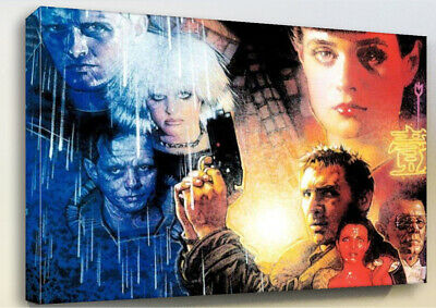 Blade Runner Printed Canvas Wall Art Various Sizes Ready To Hang