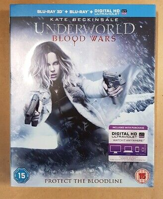 Underworld Blood Wars (Blu-Ray 3D + Blu-Ray 2D + Digital Download)