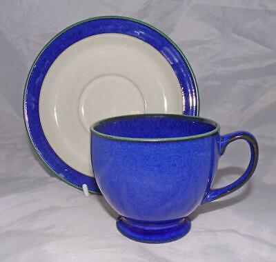 Denby Pottery Metz Pattern Teacup & Saucer made in Stoneware
