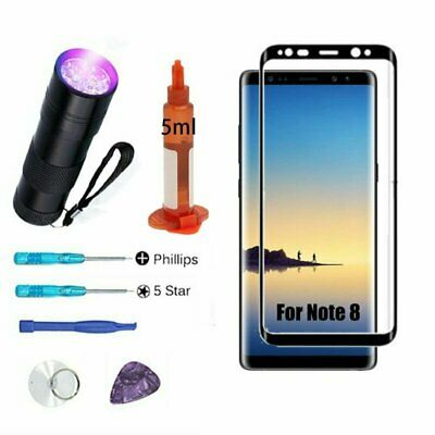 For Samsung Galaxy Note 8 Replacement OEM Front Screen Glass Lens Tools Kit