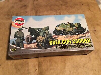 Airfix kit - Bren Gun Carrier & Anti-Tank Gun - 1:76 scale