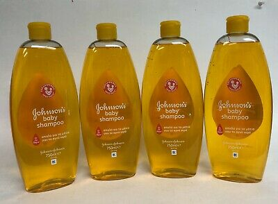 3 Pk Johnson's Baby Shampoo 750Ml 25.40 Oz Made In Italy