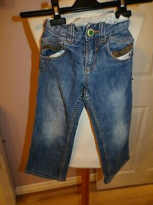 Lovely Little Boys Joules 'Junior Spuds' Jeans Uk 4 Yrs (Adjustable) Rrp £38.00