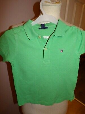 Little Boys Designer Gant Polo Shirt Uk 3 Years Rrp £40.00