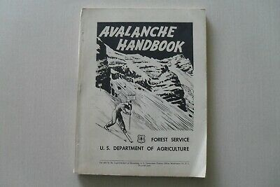 Vintage Avalanche Handbook by U.S. Dept. of Agriculture, Forest Service, ca.1952