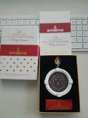 2018 Official United States Congressional Holiday Ornament Christmas
