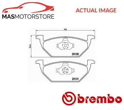 GENUINE BREMBO BRAKES FRONT BRAKE PAD SET BRAKE PADS P85075 BRAKE KIT