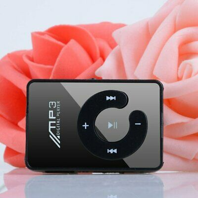 Portable Mini Clip USB MP3 Player Music Media Support Micro SD TF Card Hifi 6T