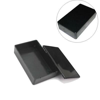 Black DIY ABS Electronic Project Housing Plastic Enclosure Box Size 100x60x25MM