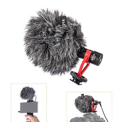 BOYA Microphone Universal Recording&Directional Condenser For iPhone Android Mac