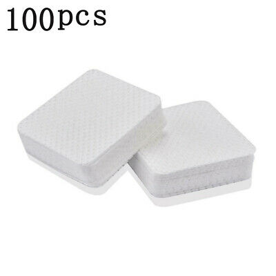 100Pcs Manicure Nail Art Polish Remover Lint Free Cleaner Wipe Cotton Pads Paper
