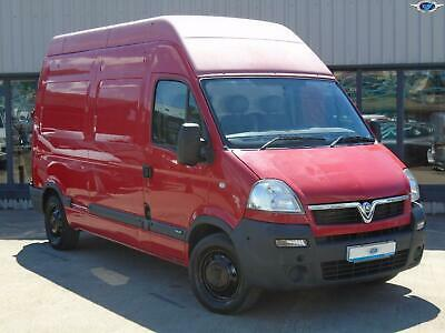 VAUXHALL MOVANO CDTi 100 L2H2 MWB 3500 Red Manual Diesel, 2008