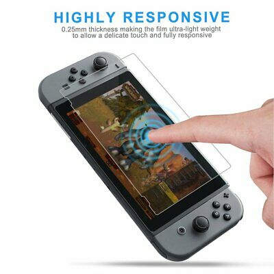 Coverage HD Clear Screen Protector Protective Film for Nintendo Switch Console