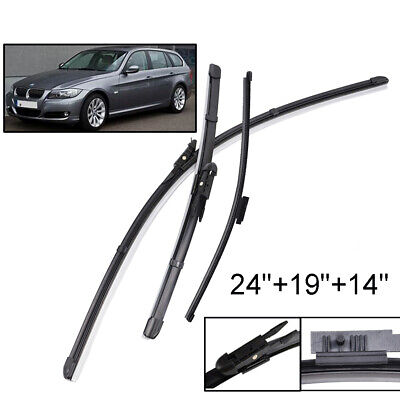 For BMW 3 Series E91 Touring Estate 09 59 10 60 11 12 Front Rear Wiper Blades