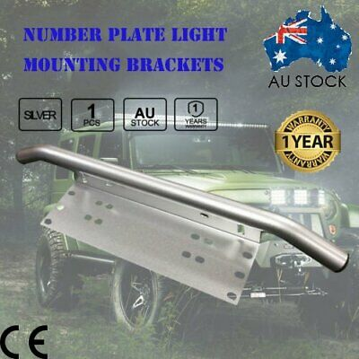 Number Plate Bullbar Frame For Driving Light Bar Mount Mounting Bracket T5