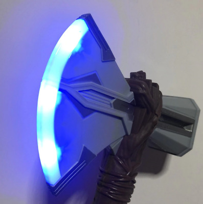 Thor Stormbreaker Axe Hammer Sound Flash Light Kids Toys Weapons Cosplay 31cm