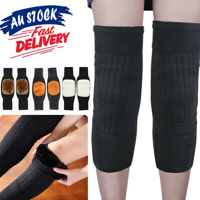 Knee Warmer Thermal Winter M2 Sleeves Kneecap Warm Leg Sleeve Wool