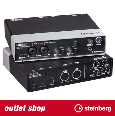 Steinberg UR242 - USB Audio- & MIDI-Interface