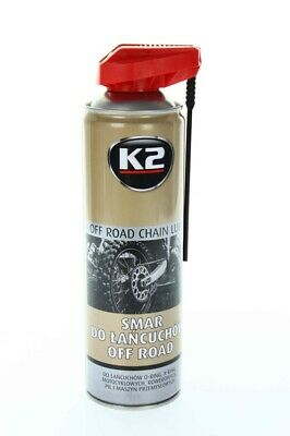 K2 CHAIN LUBE SPRAY SYNTHETIC CHAIN OIL FOR ALL MOTORCYCLE