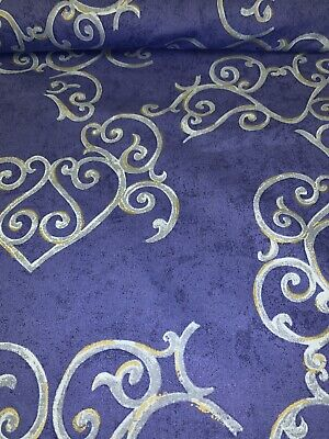 """Vtg """"TANGO"""" An Exclusive Print By Gummerson Fabrics Upholstery,Curtains p/mtr #2"""