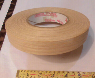"*Red Oak Edge Veneer 15/16"" x 60'  wood edge banding  .02"" thick"