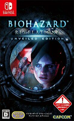 USED Nintendo Switch BIOHAZARD Resident Evil Revelations Unveiled Edition
