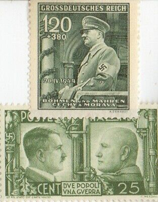 -*WW2 -*US/*germa-Paratrooper /*Italian STAMPS + *german SILVER  EAGLE coin