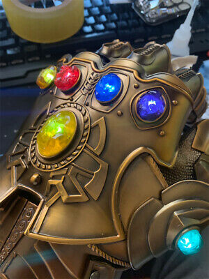 For Thanos Infinity Gauntlet 1:1 Gloves Replace Acrylic Replacement Gem 6pcs Set