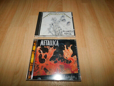2 CD´s von Metallica, and Justice for all, Load