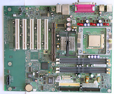 IBM 02R4084 32P4004 MOTHERBOARD WITH SL6RZ CPU /& HEAT SINK TESTED