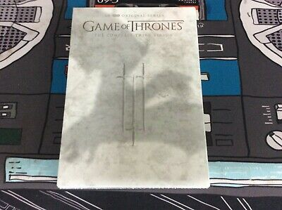 Game of Thrones: The Complete Third Season (DVD, 2016, 5-Disc Set) New! Sealed!