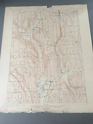 US Geological Survey Topography Map,1905 Quadrangle Tully ,New York