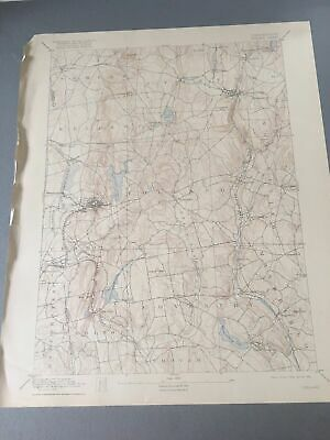 US Geological Survey Topography Map,1904 Quadrangle Troy New York