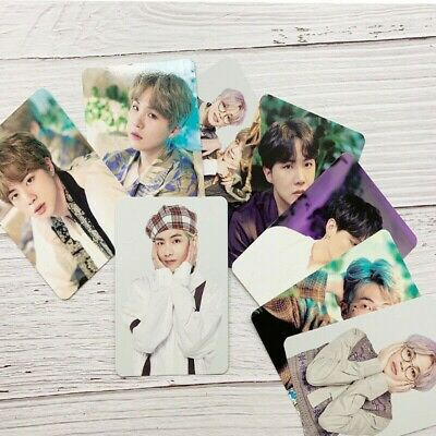 8 Pcs Set Kpop BTS Festa Concert Photo Cards Bangtan Boys Self-made Photocard
