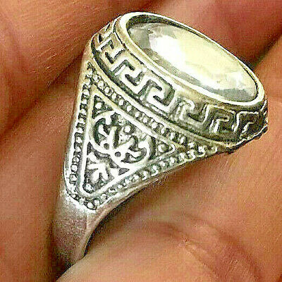 Ancient Vintage Stunning Silver RING AMAZING Stonne