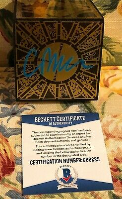 """Clive Barker Hand Signed """"Hellraiser"""" Puzzle-Box Cube Prop with Beckett COA"""