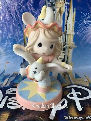 2019 Disney Parks Precious Moments Dumbo Don't Just Fly ... Soar Figurine New