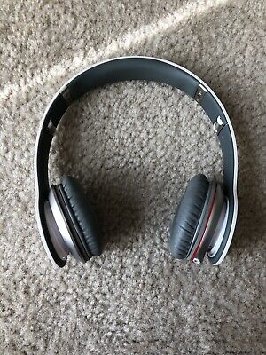 Beats by Dr. Dre Solo Wired Headband Headphones - White NO WIRE INCLUDED