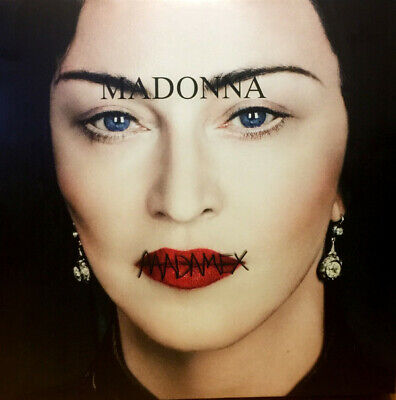 Madonna Madame X EU black vinyl 2 LP gatefold NEW/SEALED