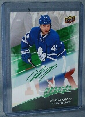 2017-18 Upper Deck MVP Green Script #19 Nazem Kadri Toronto Maple Leafs