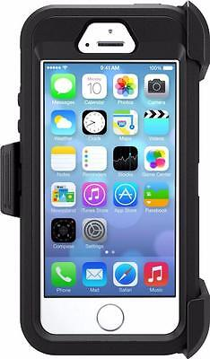OtterBox Defender Series Case for iPhone 5/5s/SE Retail Packaging- Black