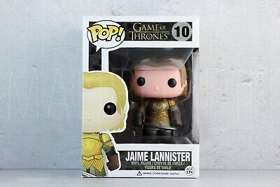 Funko POP Vinyl Television Game of Thrones Jaime Lannister Gold Armor 10 Vaulted
