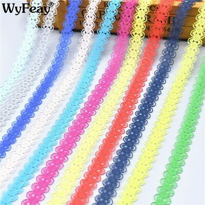 Beautiful 10 Yards/Lot Lace Ribbon Tape 14MM Quality Lace Trim DIY Embroidered