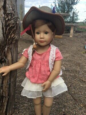 """acubra Leather hat, Suits 18"""" Dolls, Kidz N Cats, American Girl, So Cute.."""