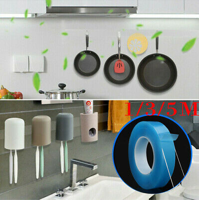 Multifunction Double-Sided Adhesive Tape Traceless Washable Removable Nano Tape