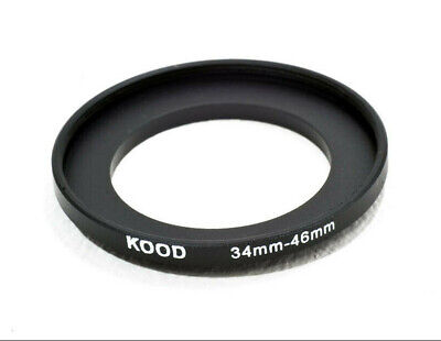 43mm a 46mm 43-46mm 43mm-46mm 43-46 mm Passo-Passo Step Up Filtro Anello Adattatore UK