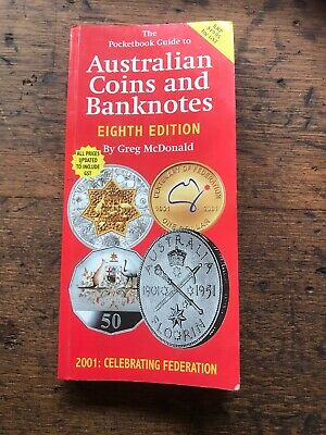 Australian Coins Banknotes Eight Edition 2001 Federation Guide Book Vintage Coin
