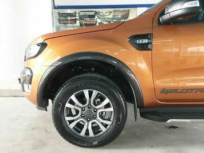 FORD RANGER 2015+ Wheel Arch Extensions Slim Double Cab Fender Flares T7 T8